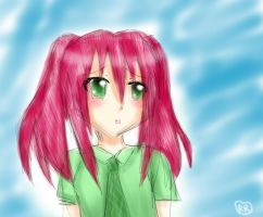 And Cherry in watercolour style xD by Rozala