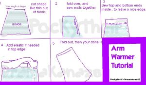 ArmLeg Warmer Tutorial by DramaKana26