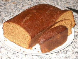 Ginger Cake (Loaf) by Bisected8