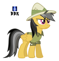 Daring Do pose by BB-K