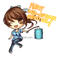 Happy Mid-Autumn Festival! by Jintii