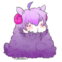 Grape Expectations Sheep Adoptable [Sold] by Squidoptables