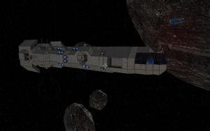 Space Engineers - Freighter Construction Pt.4 by Shroomworks