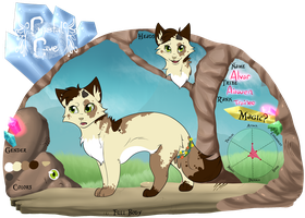 Alver ref sheet by xXLilyLeoXx