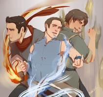 Teen Wolf/Avatar mash up by fatalis-unus