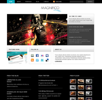 Magnifico Wordpress Theme by allken