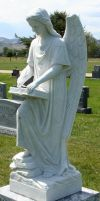 Mount Olivet Cemetery Archangel Uriel 261 by Falln-Stock