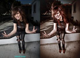 Brittany Flickinger retouch by KaVo