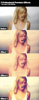 3 Professional Photographers Action Effects by xgfxws