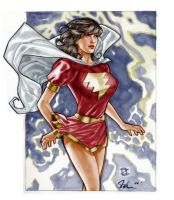 Mary Marvel by LonelyGames