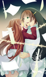 A Blue-Green Colored Melancholy by Kurifura