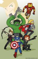 Avengers by Taiki