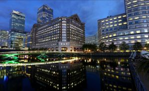 Canary Wharf, London by Marshall-Mattes
