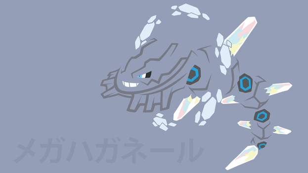 Mega Steelix by DannyMyBrother