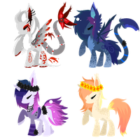 Pony batch 34 +closed+ by Megal0Vania