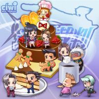 CHIBIS ACE ATTORNEY by ciwi0451