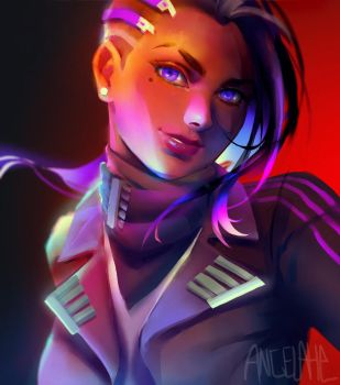 Sombra in a suit by zephy0