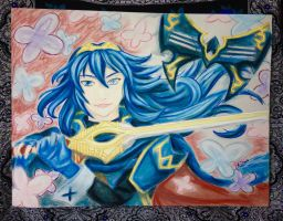 Nintendo B-Day Speed Sketch: Lucina by LadyJuxtaposition