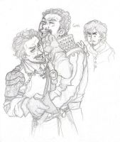 Guys [The Musketeers] by ProfDrLachfinger