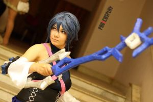 Kingdom Hearts BBS - Aqua by I-S-Mast