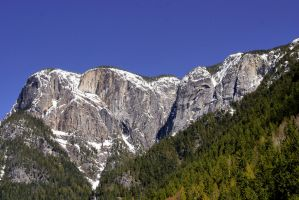 Snow Dusted Mountain Peaks (10) by SKiNBuS