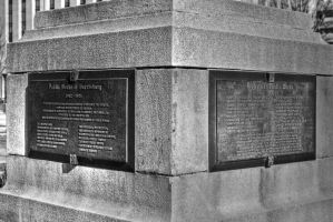 Plaque Monument by KandBphotography22