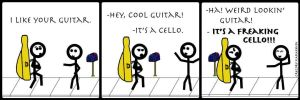 It's a Cello by Gilnim
