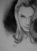 Angelina Jolie by 3yen