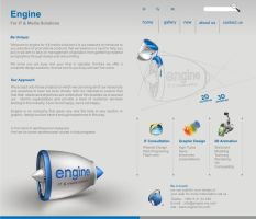 Engine website by engine-ms