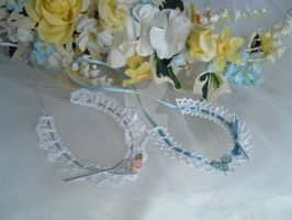 Wedding horseshoes by buttercupminiatures