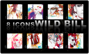 8 Icons: Wild Bill by DarknessEndless
