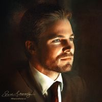 Stephen Amell by Amro0