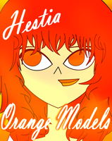 12 Days of Orange Models (7/12) Hestia by velmashivestone1
