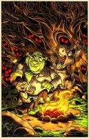 Shrek Comic 2: Cover by RoloMallada
