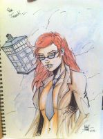 DR WHO GIRL by Anthony DUGENEST by neodrago