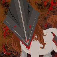 Pyramid.Head.Pony. by blackheartedhate