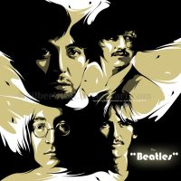 the beatles by gilbert86II