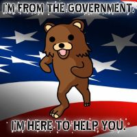 Pedobear works for the Government by crizzlesbuttons