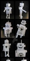 Bean the paper robot by EatToast