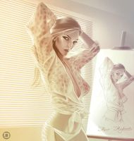 Painting in the Morning by dannykojima