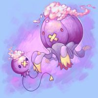 Balloon Pokemon by vexnir