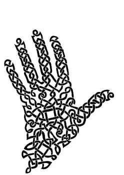 Celtic Hand by AtarAtis