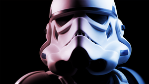 Stormtrooper 2ft Model by Messix