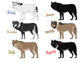 Wolf Point Adoptables - CLOSED by xMush-Kennelsx