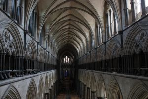 Salisbury Cathedral first floor by Topaz172