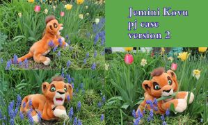 Jemini Kovu pyjama case version 2 by Laurel-Lion