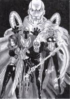 The four horsemen of Apocalypse by RicardoAndr3