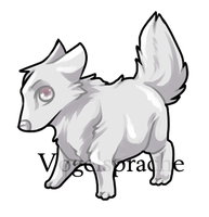 Recycled Canine Lineart by VogelSprache
