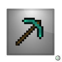 Minecraft - Pickaxe Icon by CoopaD