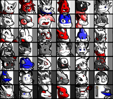 Flipnote Icon Collage by Tisserovehicks